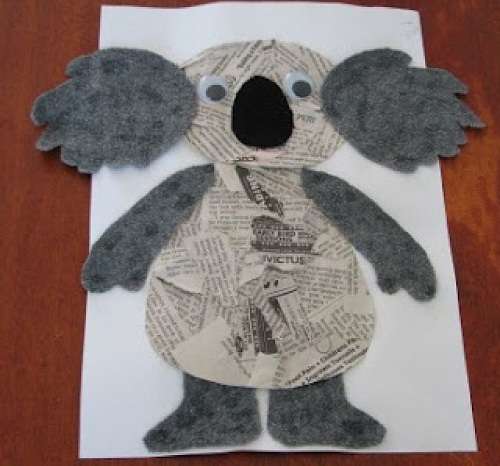 Cute Newspaper Crafts for Kids