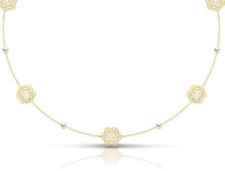 Cutout Necklace