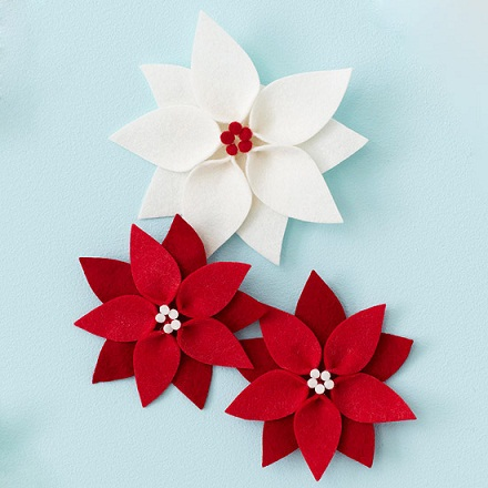 Decorative Poinsettia Crafts