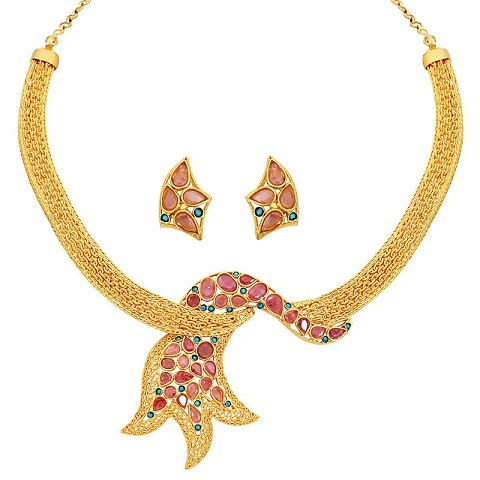 Designer Gold Necklace Design