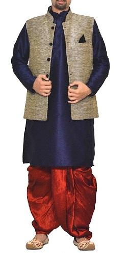 Designer Kurta with Dhoti