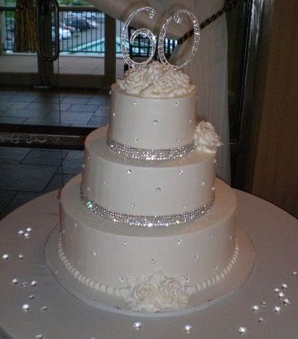 Diamond Wedding Cake