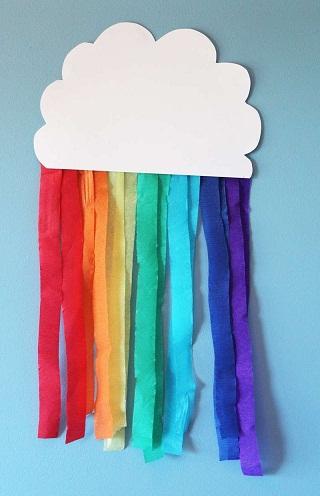 Easy Art Rainbow Crafts