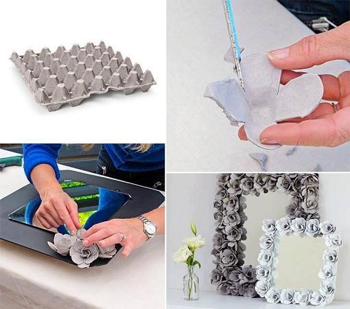 Eggs Cardboard Tray Craft Ideas