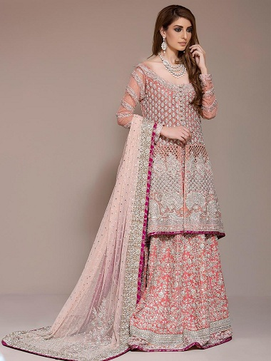 9 Best Designs Of Long Kurti With Ghagra In India Styles