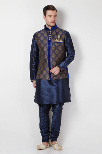 Ethnic Wear Kurta with Overcoat