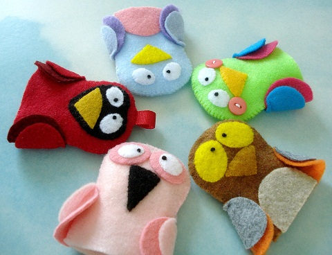 Felt Finger Puppet Crafts