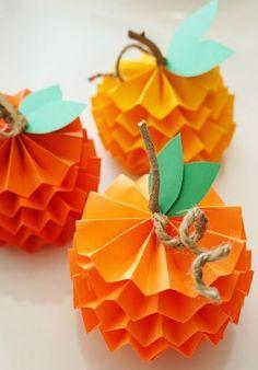 Festive Thanks giving Pumpkin Crafts