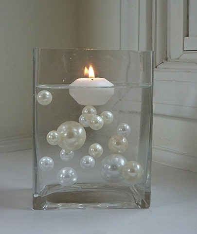 Floating Pearls Candle Holder
