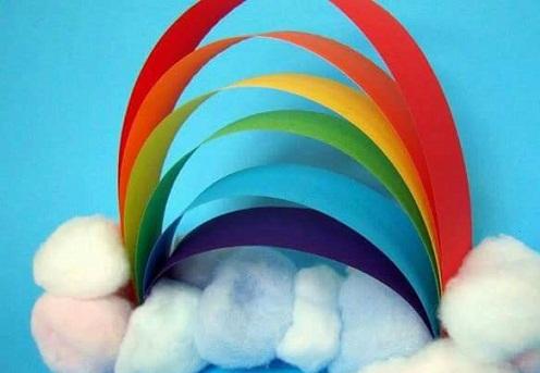 Funny Rainbow Crafts