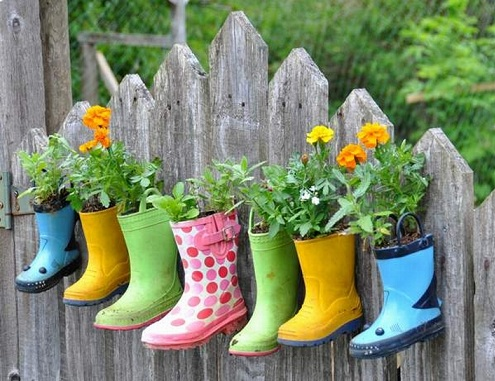 Garden Planters Craft Ideas