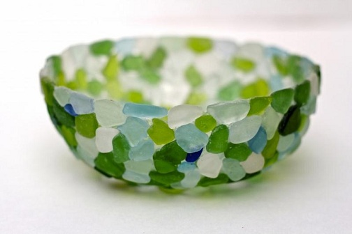 Glass Piece Bowls Glass Craft