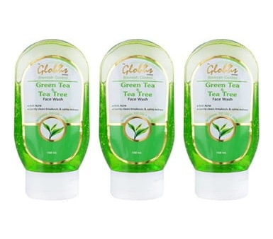 Globus Remedies Green Tea & Tea Tree Face Wash