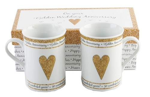 Golden Wedding Anniversary Gift: 9 Best 50th Wedding Anniversary Gifts With Images