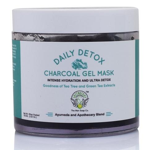 Green Berry Organics Daily DETOX Charcoal Gel Face Mask