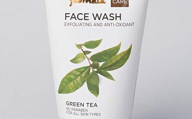 green tea face wash