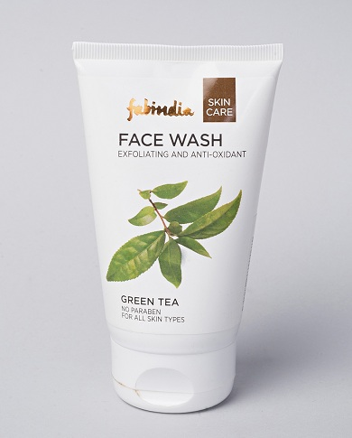 green tea face wash