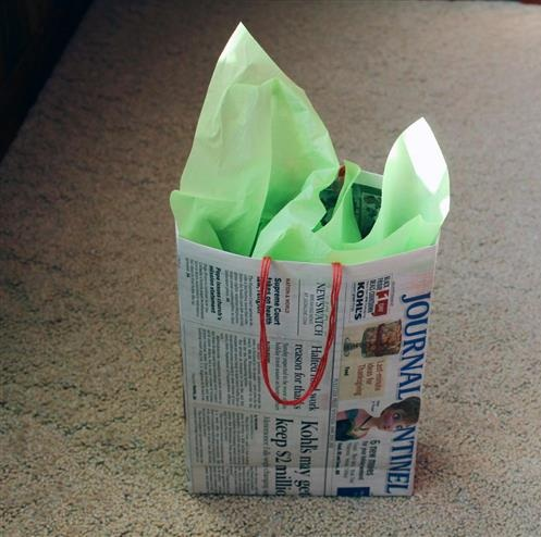 Handmade Newspaper Crafts