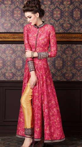 High Neck Style Kurti