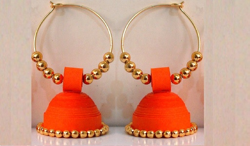 Hoop Style Jhumkas