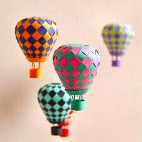 Hot Air Balloon Fun Craft