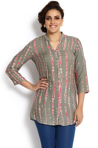 Indian Cum Western Style Kurti Tunics