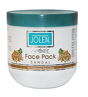 Jolen Aesthetic Sandal Face Pack