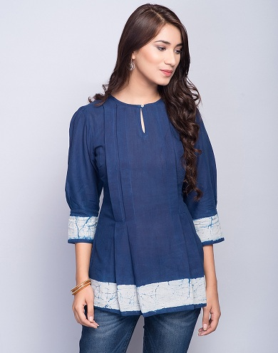Key Hole Short Kurta