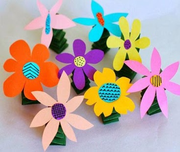 newspaper flowers recycled craft for kids 50 different craft ideas to make at home styles at 7847