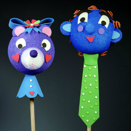 Kids Playful Puppet Crafts