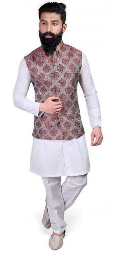 kurta with blazer