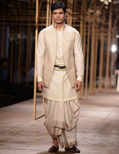 Kurta with Nehru Jacket Design