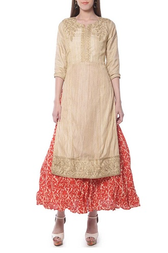 Kurta with Ankle Length Skirt