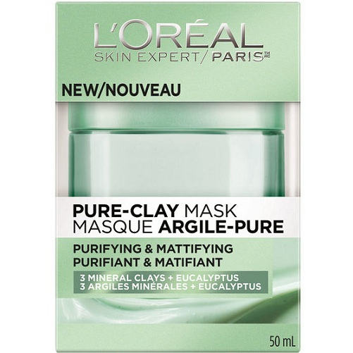 L'Oreal Paris Pure Clay Purify and Mattify