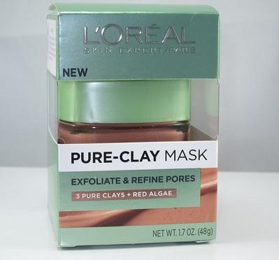 L'oreal Paris Pure Clay Mask Exfoliate and Refine Pores