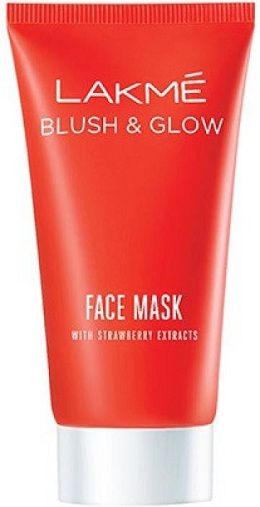 Lakme Strawberry Blush & Glow Mask
