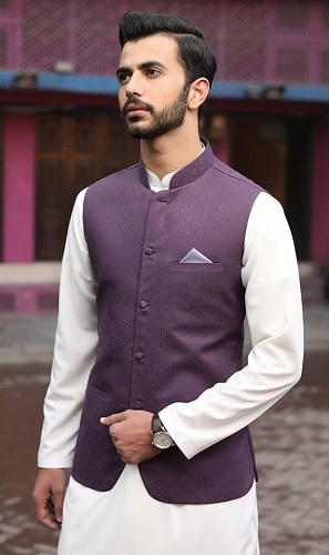 Less Fancy Kurta Design with Waistcoat
