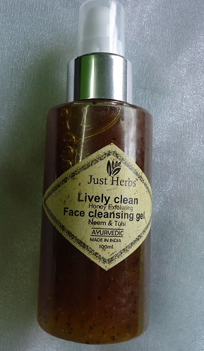 Lively Clean Honey Exfoliating Face Cleansing Gel