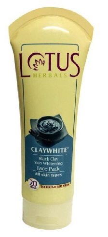 Lotus Herbals Clay White Back Clay Skin Whitening Face Pack
