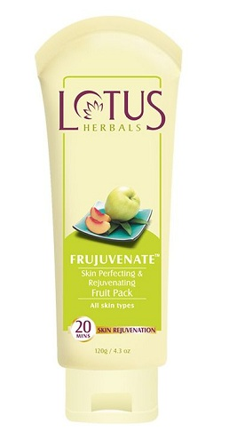 Lotus Herbals Frujuvenate Skin Perfecting and Rejuvenating Fruit Pack