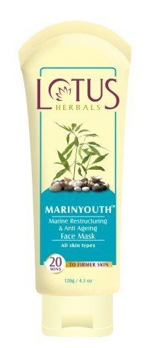 Lotus Herbals Marinyouth Marine restructuring & Anti Aging Face Mask