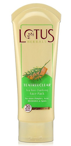 Lotus Herbals Tea Tree Clarifying Face Pack