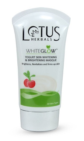 Lotus Herbals White Glow Yogurt Skin Whitening And Brightening Mask