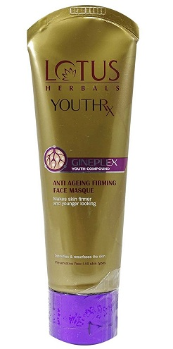 Lotus Herbals Youthrx Anti - Ageing Firming Face Masque