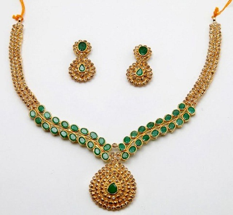 Magnificent Gold Necklace Design
