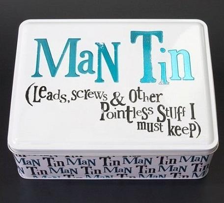 Man's Tin Box