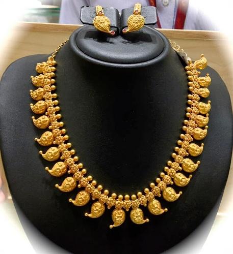 Mango Design Necklace
