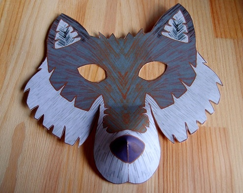 Mask Wolf Crafts