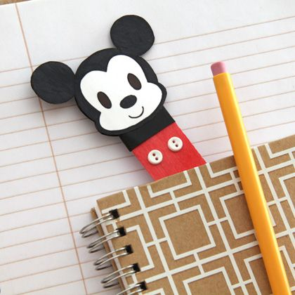 Mickey Mouse Bookmark