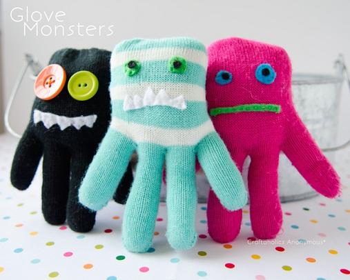 Mitten Soft Toys Fun Craft